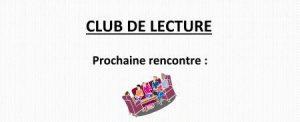 Club de lecture @ La Maison Bleue / Espace-lecture Saint-Martin | Rennes | Bretagne | France
