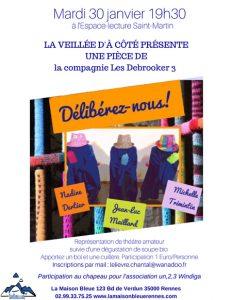 La Veillée d'à côté @ La Maison Bleue / Espace-lecture St-Martin | Rennes | Bretagne | France