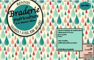 Braderie puériculture @ La Maison Bleue | Rennes | Bretagne | France