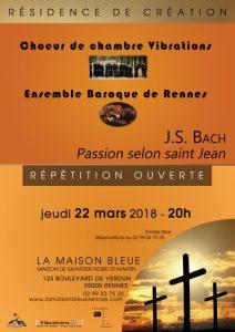 Musique : répétition ouverte @ La Maison Bleue | Rennes | Bretagne | France