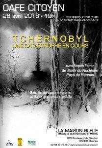 Café citoyen : Tchernobyl, une catastrophe en cours @ La Maison Bleue | Rennes | Bretagne | France