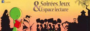 Soirée Livres & Jeux @ La Maison Bleue / Espace-lecture St-Martin | Rennes | Bretagne | France