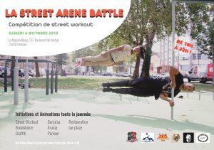 La Street Arene Battle @ La Maison Bleue | Rennes | Bretagne | France