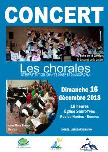 Concert de chorales @ Eglise St-Yves | Bretagne | France