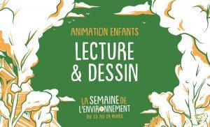 [ANNULE / Semaine de l'Environnement]-Animation enfants Lecture / Dessin @  La Maison Bleue  | Rennes | Bretagne | France